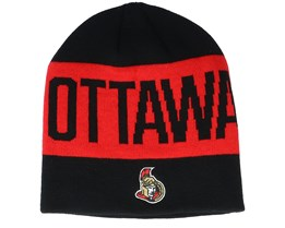 Ottawa Senators 19 Black/Red Beanie - Adidas