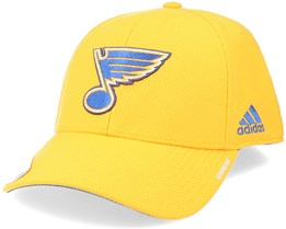 St. Louis Blues Coach Structured Yellow Flexfit - Adidas