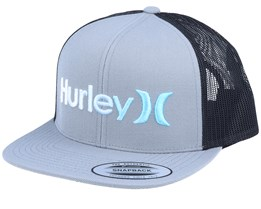 O&O Gradient Grey/Black Trucker - Hurley