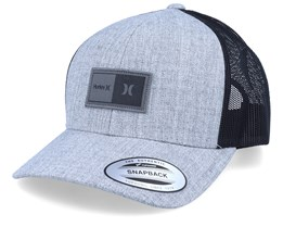 The Regular Heather Grey/Black Trucker - Hurley