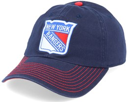 New York Rangers Fan Unstructured Navy Adjustable - Fanatics