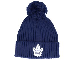 Toronto Maple Leafs Value Core Beanie Blue/White Pom - Fanatics