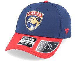 Florida Panthers Draft Structured Stretch Navy/Red Flexfit - Fanatics