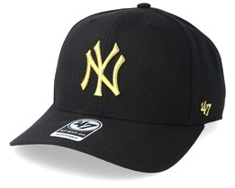 New York Yankees Cold Zone Metallic 47 Mvp DP Black/Gold Adjustable - 47 Brand