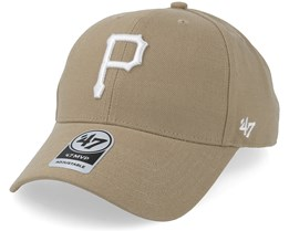 Pittsburgh Pirates 47 Mvp Khaki Adjustable - 47 Brand