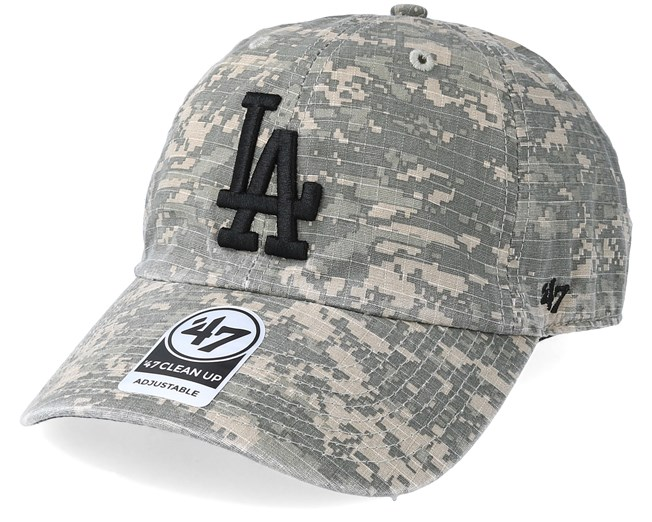 CAMOUFLAGE LOS ANGELES LA CITY BASEBALL CAP HAT ONE SIZE FITS ALL ADJUSTABLE