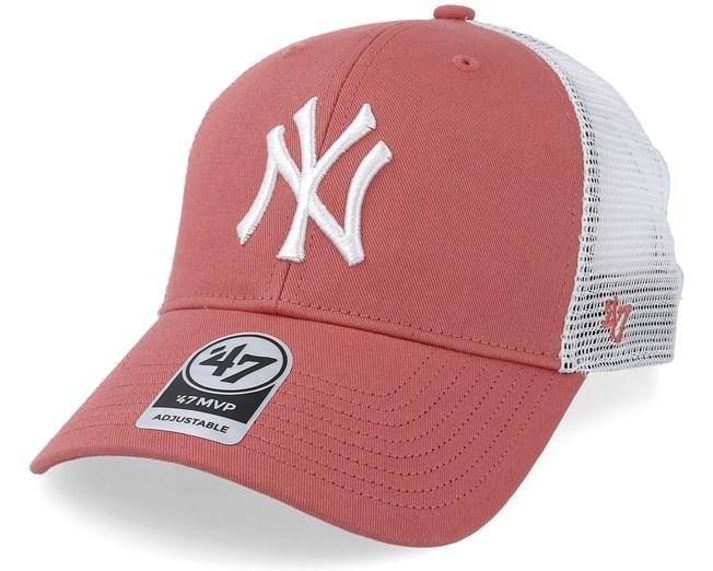 New York Yankees Tiffany Flagship 47 Mvp Mesh Island Red Trucker - 47 Brand  - Start Gorra - Hatstore d35eb609bd7