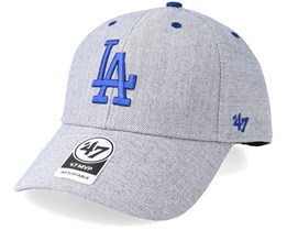 Los Angeles Dodgers Storm Cloud 47 Mvp Charcoal/Blue Adjustable - 47 Brand