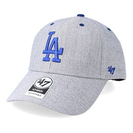 save off 41397 a205a 47 Brand Los Angeles Dodgers Storm Cloud 47 Mvp Charcoal Blue Adjustable -  47 Brand £24.99