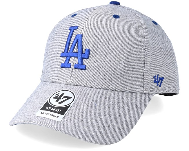 b8a6313df7f16 Los Angeles Dodgers Storm Cloud 47 Mvp Charcoal Blue Adjustable - 47 Brand  caps - Hatstore.ae