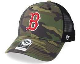 Boston Red Sox Branson 47 Mvp Camo/Black Trucker - 47 Brand