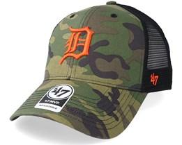 Detroit Tigers Branson 47 Mvp Camo/Black Trucker - 47 Brand