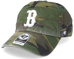 Boston Red Sox 47 Clean Up Camo/White Adjustable - 47 Brand