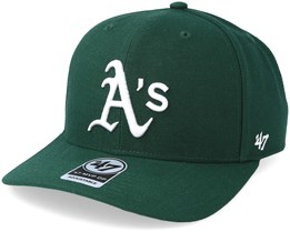 Oakland Athletics Cold Zone 47 Mvp Dark Green/White Adjustable - 47 Brand