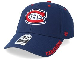 Montreal Canadiens Defrost 47 Mvp Black Navy/Red Adjustable - 47 Brand