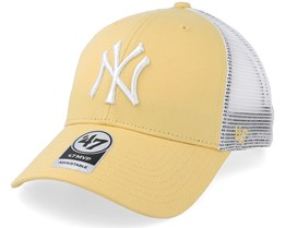 New York Yankees Tiffany Flagship 47 Mvp Mesh Maize Trucker - 47 Brand aa028f8106f