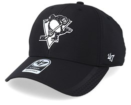 Pittsburgh Penguins Osmosis 47 Mvp Black/White Adjustable - 47 Brand