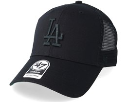 Los Angeles Dodgers Branson 47 Mvp Black/Black Trucker - 47 Brand