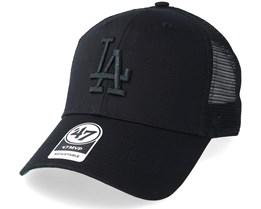 Los Angeles Dodgers Branson 47 Mvp Black Black Trucker - 47 Brand 93e92c53eee