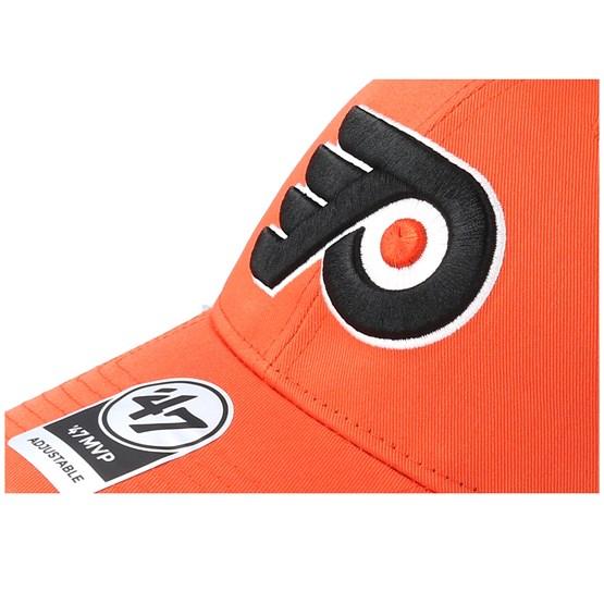 47 Brand Philadelphia Flyers Trucker Cap Orange Branson MVP