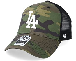 Los Angeles Dodgers Branson 47 Mvp Camo/Black Trucker - 47 Brand