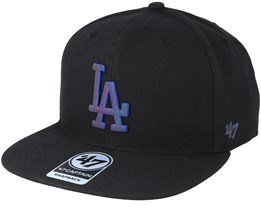 Los Angeles Dodgers Iridescent 47 Captain Black Snapback - 47 Brand
