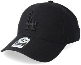 Los Angeles Dodgers 47 Mvp Black/Black Adjustable - 47 Brand