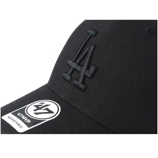 9d312cf3bf20b Los Angeles Dodgers 47 Mvp Black Black Adjustable - 47 Brand caps -  Hatstoreworld.com