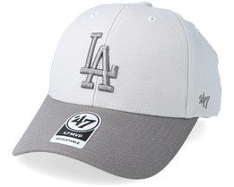 Los Angeles Dodgers Two Tone Steel Grey Adjustable - 47 Brand