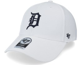 Detroit Tigers Mvp White/Black Adjustable - 47 Brand