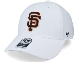 New York Giants Mvp White Adjustable - 47 Brand