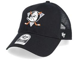 Anaheim Ducks Branson 47 Mvp Mesh Black/Black Trucker - 47 Brand