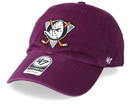 Anaheim Ducks 47 Clean Up Plum Adjustable - 47 Brand