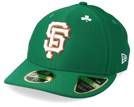 San Francisco Giants MLB19 Low Profile Of St. Pats Day Green/White Fitted - New Era