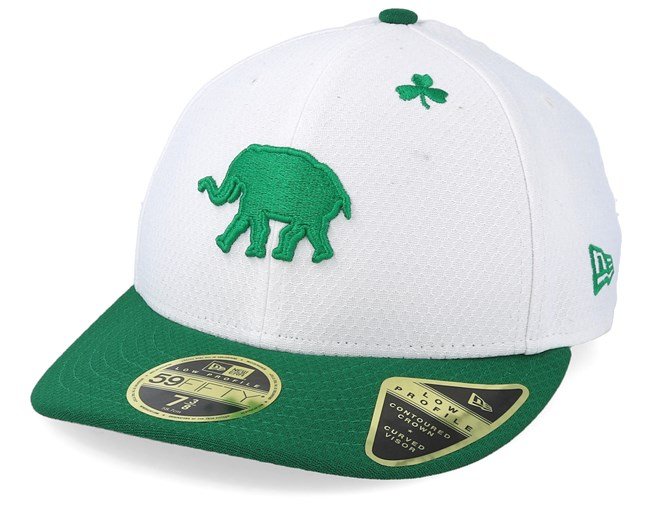 4eb94d2c2 Oakland Athletics MLB19 Low Profile Of St. Pats Day White/Green ...
