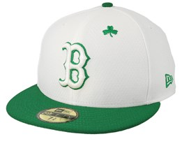 Boston Red Sox MLB19 59Ffity Of St. Pats Day White/Green Snapback - New Era
