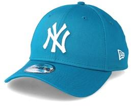 New York Yankees Basic 9Forty Turquoise Adjustable - New Era