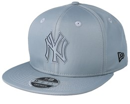 New York Yankees Ripstop 9Fifty Grey/Grey Snapback - New Era