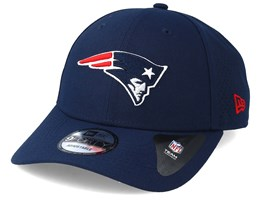 size 40 fc71f e26fe New England Patriots Poly Perf 9Forty Navy Adjustable - New Era