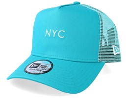 NYC Seasonal Teal Trucker - New Era