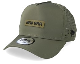 Tech Performance Army Green Trucker - New Era