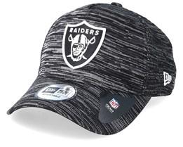 Oakland Raiders Engineered Fit Aframe Black Adjustable - New Era