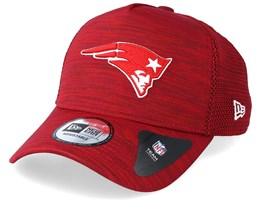 New England Patriots Engineered Fit Aframe Red Adjustable - New Era