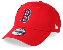 brand new a26d5 63286 Boston Red Sox Cooperstown Patched 9Forty Red Navy Adjustable - New Era