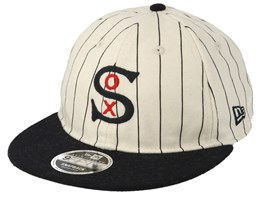 Chicago White Sox Coop Flannel Rc9Fifty White Strapback - New Era