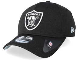 Oakland Raiders Shadow Tech 39Thirty Black Flexfit - New Era