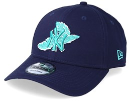 sale retailer 333e9 89a1d New York Yankees Light Weight 9Forty Navy Teal Adjustable - New Era