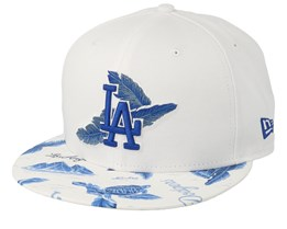 Los Angeles Dodgers Desert Island 9Fifty White/Royal Snapback - New Era