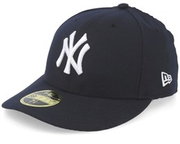 New York Yankees Low Profile 59Fifty Authentic On-Field Navy/White Fitted - New Era