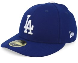 Los Angeles Dodgers Low Profile 59Fifty Authentic On-Field Royal/White Fitted - New Era